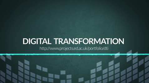Thumbnail for entry Digital Transformation