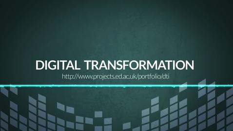Thumbnail for entry Digital Transformation