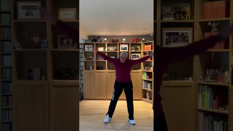 Thumbnail for entry 3 min Low Impact Movement to break up sedentary time with Prof Nanette Mutrie & no equipment