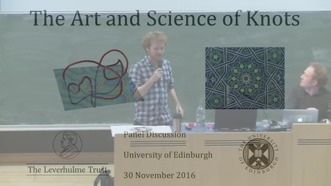 Thumbnail for entry The Art and Science of Knots: 6. Hamish Todd