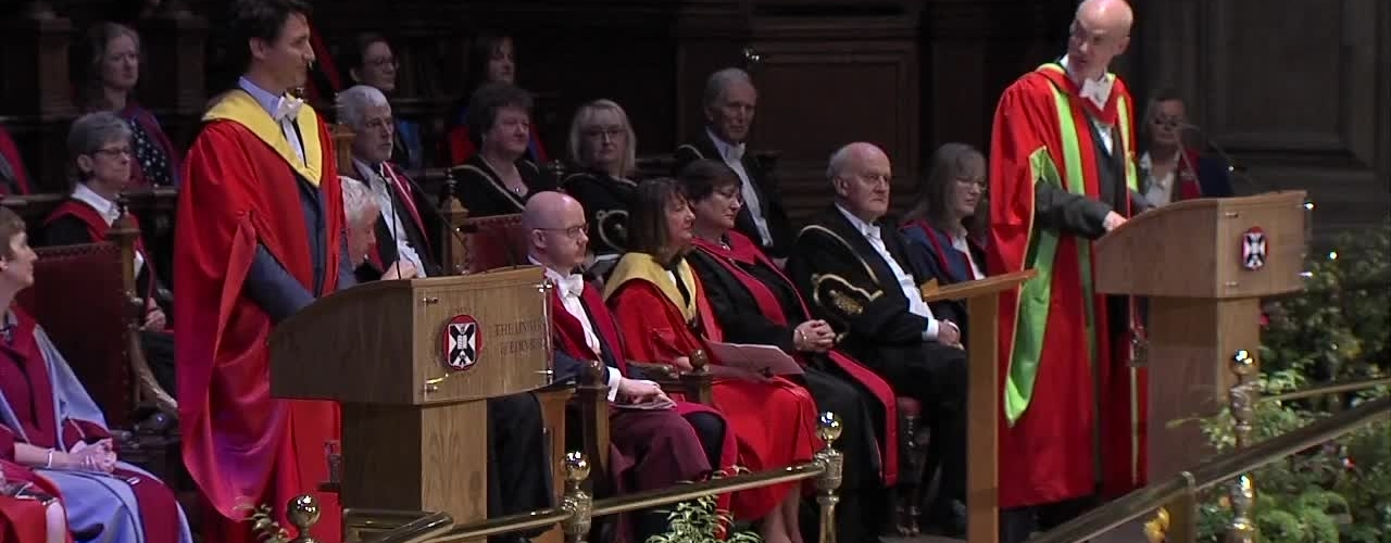 Justin Trudeau Honorary Degree Acceptance Speech