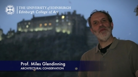 Thumbnail for entry Miles Glendinning -Architectural Conservation- Research In A Nutshell-Edinburgh College of Art-03/12/2012