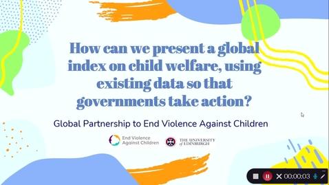 Thumbnail for entry SACHA '21 - Global Partnership to End Violence:  Group 2 Proposal