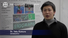 Thumbnail for entry Taku Komura - Informatics - Research In A Nutshell - School of Informatics -26/07/2013