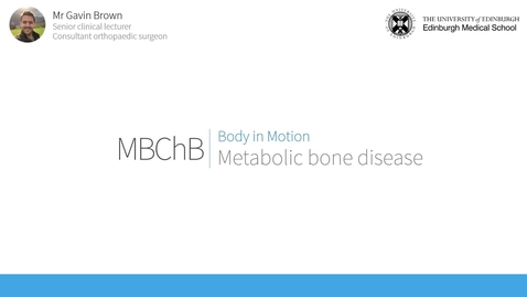 Thumbnail for entry Metabolic bone disease