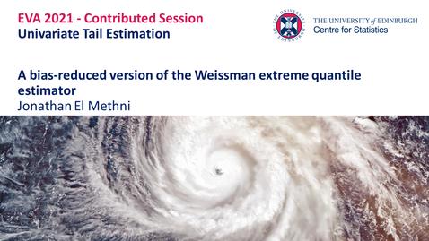Thumbnail for entry Univariate Tail Estimation: Jonathan El Methni