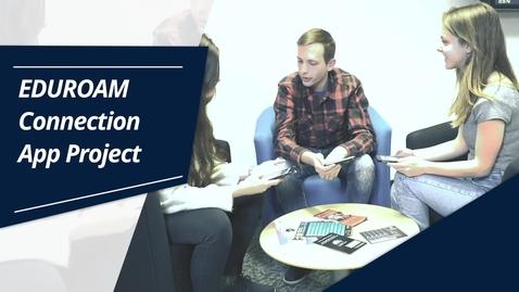 Thumbnail for entry EDUROAM Connection App