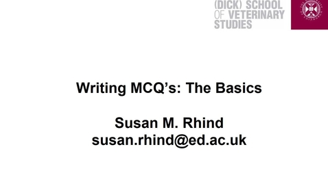 Thumbnail for entry MCQ writing audio ppt (1)