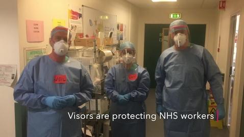 Thumbnail for entry uCreate Studio - Edited 3D Verkstan PPE Visors for NHS