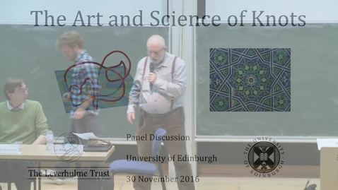 Thumbnail for entry The Art and Science of Knots: 7. Michael Berry