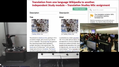 Thumbnail for entry Translating articles between different language Wikipedias: the new Content Translation tool