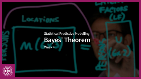 Thumbnail for entry Bayes' Theorem