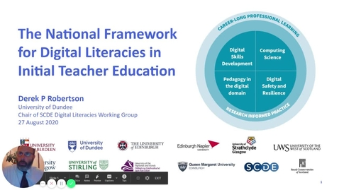 Thumbnail for entry Introduction to SCDE digital literacies framework