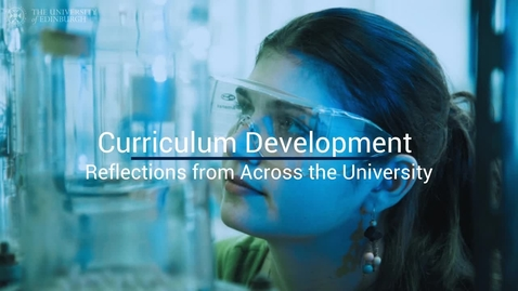 Thumbnail for entry Curriculum Development Reflections (Walsh)