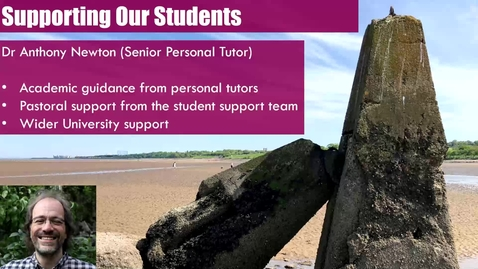Thumbnail for entry Year 3 PT, Academic  and Student Support