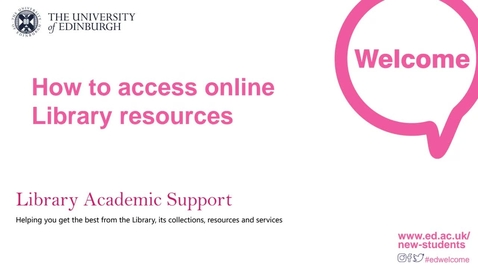 Thumbnail for entry (UG) How-to access online library resources