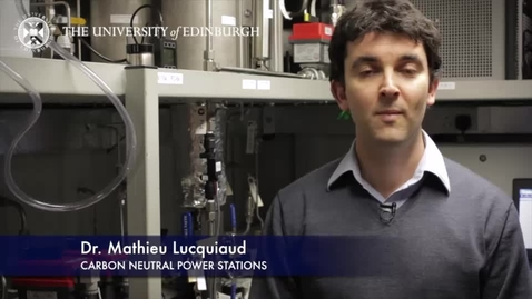 Thumbnail for entry Mathieu Lucquiaud: Carbon neutral power stations