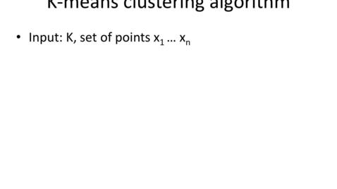 Thumbnail for entry The K-means algorithm