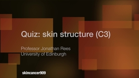 Thumbnail for entry C3 909 Quiz answers C3 Skin structure 2-VIMEO 2017 summer