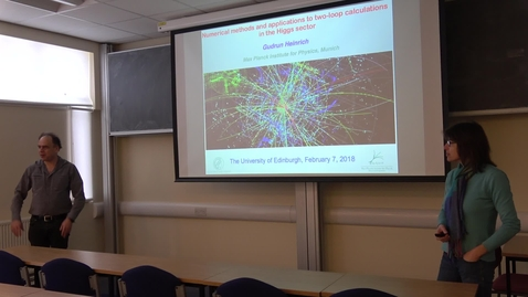 Thumbnail for entry PPT Seminar: Numerical methods and applications to two-loop calculations in the Higgs sector - Gudrun Heinrich (Max-Planck Institute for Physics)