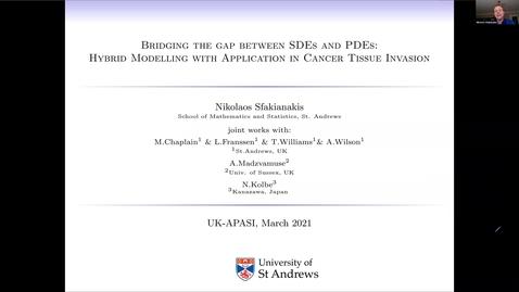 Thumbnail for entry UK-APASI in Mathematical Sciences: Nikolaos Sfakianakis