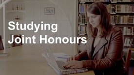 Thumbnail for entry Studying Joint Honours