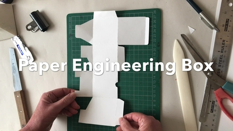 Thumbnail for entry Paper engineering box