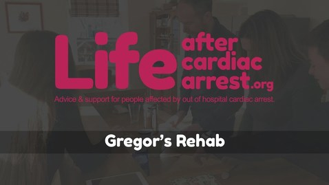 Thumbnail for entry Gregor's rehab