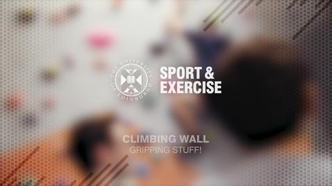 Thumbnail for entry Climbing Wall