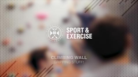 Thumbnail for entry Climbing Wall