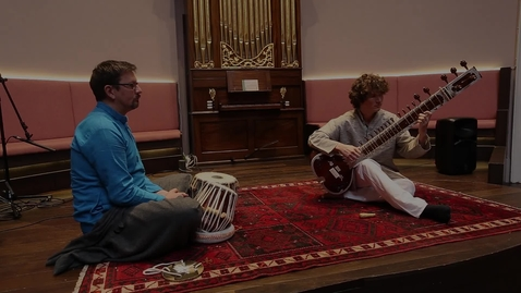 Thumbnail for entry The Sitar Project:  Dr Alec Cooper & Mike Black - Rag Megh | St Cecilia's Hall | 22 October 2020