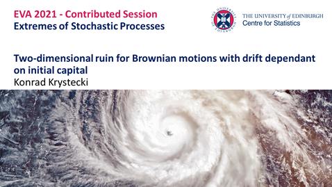 Thumbnail for entry Extremes of Stochastic Processes: Konrad Krystecki