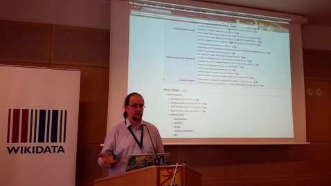 Thumbnail for entry The Zika corpus as a test case for WikiCite - Daniel Mietchen