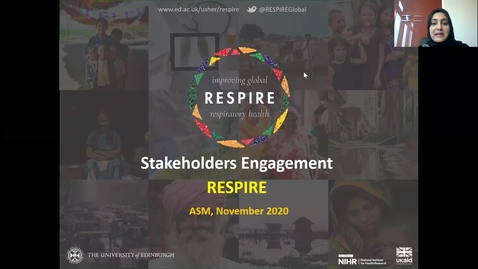 Thumbnail for entry RESPIRE Showcase: Best of Stakeholder Engagement