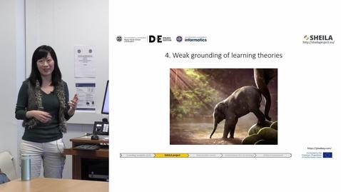 "Thumbnail for entry DE Seminar | Yi-Shan Tsai ""What can learning analytics do for us?"""
