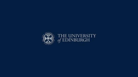 Thumbnail for entry My Experience as an Online Student | Student Vlog | The University of Edinburgh