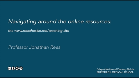 Thumbnail for entry Navigating the external teaching resource website
