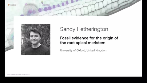 Thumbnail for entry Hetherington, Video, Sainsbury Lab Conference