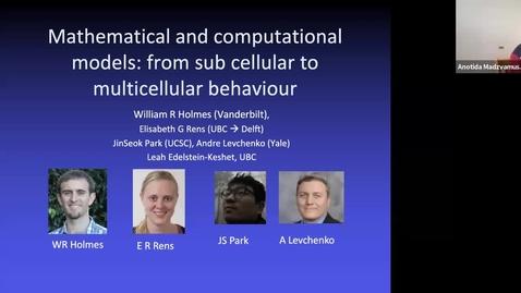 Thumbnail for entry UK-APASI in Mathematical Sciences: Leah Edelstein-Keshe
