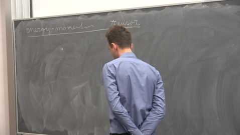 """Thumbnail for entry Vladimir Prochazka - Higgs Centre School of Theoretical Physics: """"Aspects of Renormalization Group Flows"""" - lecture 9"""