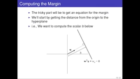Thumbnail for entry Computing the Margin
