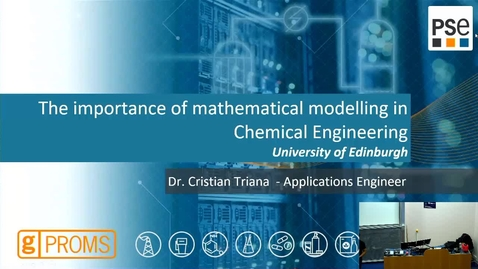 Thumbnail for entry Guest Lecture 2 - The importance of mathematical modeling