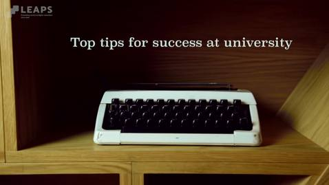 Thumbnail for entry Top Tip #1: Tadgh