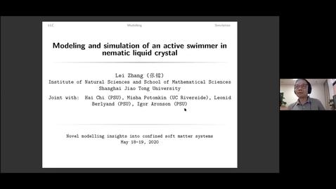 Thumbnail for entry Novel modelling insights into confined soft matter systems virtual seminar. - L Zhang, Shanghai JiaoTong University