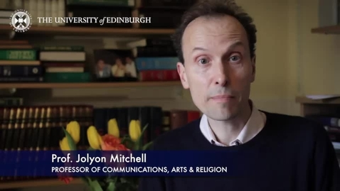 Thumbnail for entry Jolyon Mitchell- Professor of Communication, Arts & Religion-Research In A Nutshell-School of Divinity-17/04/2014