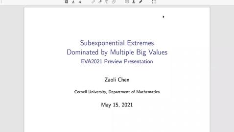 Thumbnail for entry Zaoli Chen EVA Talk Preview
