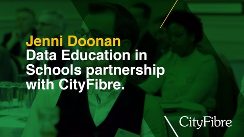 Thumbnail for entry Cityfibre and Data Education in Schools