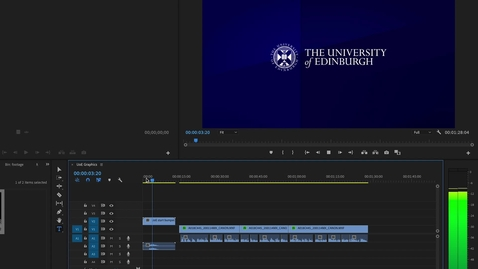 Thumbnail for entry How to Add University of Edinburgh Graphics to Videos