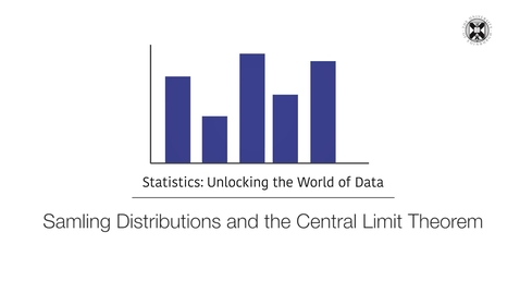 Thumbnail for entry Statistics - Sampling Distributions and the Central Limit Theorem