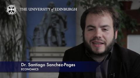 Thumbnail for entry Santiago Sanchez Pages-Economics -Research In A Nutshell-School of Economics-16/10/2012